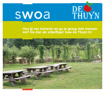 Word jij vrijwilliger bij De Thuyn?