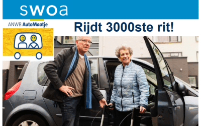 AutoMaatje rijdt 3000ste rit!