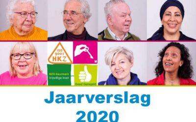 Het jaarverslag 2020 staat online!